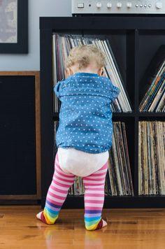 Baby and Vinyl