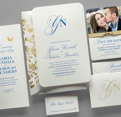 Kleinfeld Paper || You & I Wedding Invitation suite