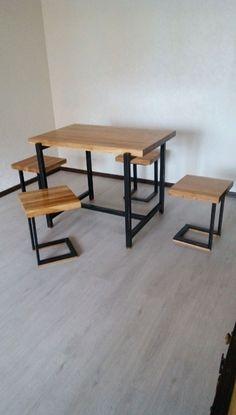 Купить Стол. Стол лофт. - стол, стол из дерева, столешница, обеденный стол, лофт