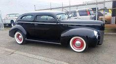 1940 Ford Deluxe Tudor Sedan. Chopped AND Built V8 fully custom. Strong runner. $40,999 253-230-1494