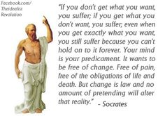 Socrates under the Influence of Buddhism. Haha...