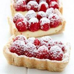 Cheesecake Tart with Fresh Raspberries | Baked by Rachel