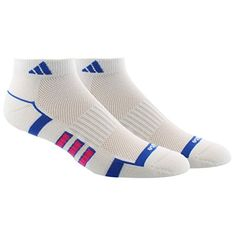 adidas Womens Climalite II Low Cut Socks 2 Pack One Size WhiteBlueShock Pink >>> Read more reviews of the product by visiting the link on the image.