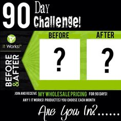 The best place to buy It Works Wraps. Located near It Works Global office. Purchase amazing products or start your own business as an It Works distributor. 90 Day Challenge, Health Challenge, It Works Body Wraps, It Works Distributor, Independent Distributor, How To Find Out, How To Become, It Works Global, Defining Gel