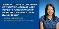 Alum Luza Jaramillo talks #diversity in tech and the recent #LATINITY conference: ow.ly/UOvQY