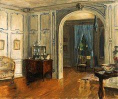 Interiors by American in Paris Walter Gay 1856-1937