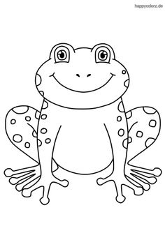 Frog Coloring Pages, Cartoon Hair, Interesting Animals, Paper Drawing, Digi Stamps, Cross Stitch Embroidery, Painted Rocks, Hello Kitty, Kids Rugs
