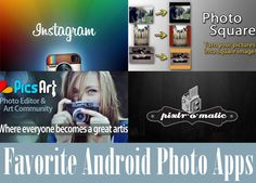 Favorite Android Photo Apps