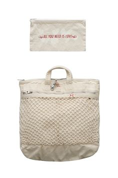 Porter Classic - CANVAS NET HELMET BAG M - WHITE Porter Classic, Porter Bag, Backpack Pattern, Day Bag, Casual Bags, Beautiful Bags, Tote Handbags, Backpack Bags, Fashion Bags