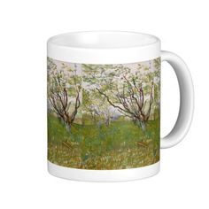 Flowering Orchard by Vincent Van Gogh Coffee Mugs