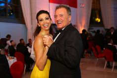 Lorena Baricalla wearing Sheherazade Collection by Pia Mariani Haute Joaillerie  With Armand Assante @eyesdesignit