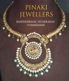 South Indian Jewellery, Indian Jewellery Design, Indian Jewelry, Jewelry Design, Wedding Jewelry, Gold Jewelry, 22 Carat Gold, Antique Gold, Jewels
