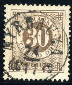 Sweden 30ö brown 1886. [Mi:35]