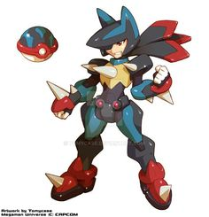 Lucario, Ball and Armor (Pokemon)