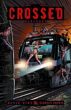 Eat@Shrimpy's: Comic Review - Crossed Badlands #16
