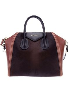 GIVENCHY two-tone tote