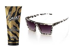 This Instant Sunless Tanning Body Bronzing Lotion & Crystal Black Leopard Union Square Sunglass are a must have for a beautiful day at the beach what's better then laying at the beach knowing you will be tanned afterwards I have a few of her tanning lotions and once again defiantly recommend them they smell great and get the job done!