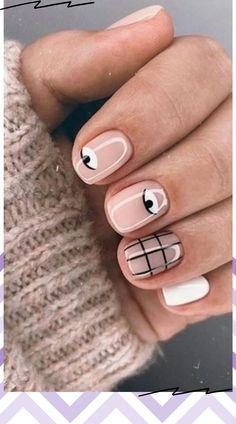 Short Gel Nails, Simple Acrylic Nails, Simple Nails, Nail Gel, Nail Manicure, Fancy Nails, Cute Nails, Strengthening Nails, Gel Nail Art