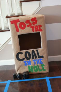 Thomas the Train Party - Toss the Coal game