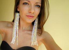 Wedding earrings by romi elischer