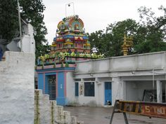 Chilkur Balaji Temple popularly known as Visa Balaji Temple or Visa God is an ancient Hindu temple of Lord Balaji on the banks of Osman Sagar Lake near Hyderabad, India. It is 17 km from Mehedipatnam.