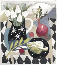 Watercolours, Printmaking, Kids Rugs, Artists, Wall, Kitchen, Painting, Decor, Cooking