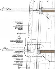Story of the Double-skin facade by UNStudio Studios Architecture, Architecture Drawings, Facade Architecture, Curtain Wall Detail, Wall Section Detail, Double Skin, Passive Design, Shop Facade, Construction Drawings