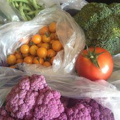 Today's Colorful Farmer's Market Haul