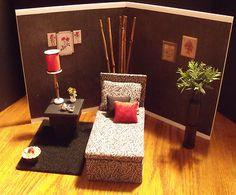 Barbie Fashion Doll Furniture Diorama Chaise Lounge