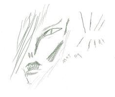 david bowie by mat brinkman | by Sean T. Collins Sean T. Collins' Thin White Sketchbook https://www.flickr.com/photos/9486145@N04/sets/72157602061430969/