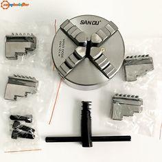 SANOU K12 80 четыре челюсти Самоцентрирующийся Зажимной патрон-in Зажим from Инструменты on AliExpress