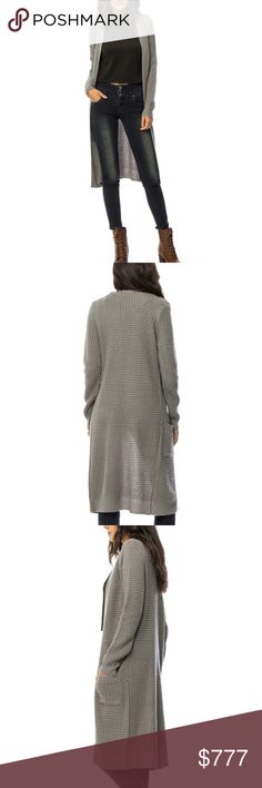 Gray knitted cardigan Brand new Boutique item  Classic Gray knitted cardigan. Pair over a tank top with jeans or shorts or wear over a dress with heels for a dressy look. Easy to grab and go! b Sweaters