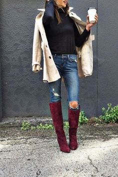 Jane Tall Boots by Farylrobin | Pinned by topista.com