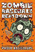 Zombie Baseball Beatdown by Paolo Bacigalupi: In this inventive, fast-paced novel, New York Times bestselling and Printz Award-winning author Paolo Bacigalupi takes on hard-hitting themes — from food safety to racism and immigration — and creates a zany, grand-slam adventure that will get kids thinking about where their food comes from...