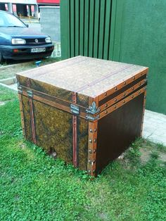 My wife's chest Street Painting, Treasure Chest, Storage Chest, Street Art, Furniture, Home Decor, Decoration Home, Home Furnishings, Interior Design