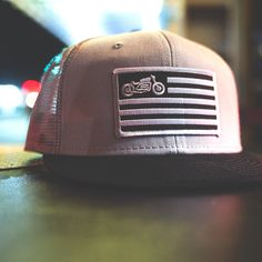 """""""United"""" mesh snap back hat from Scotch and Iron"""