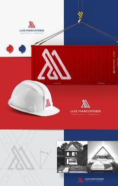 Luiz Marcondes Arquitetura e Engenharia. Criação de identidade visual para engenheiro Luiz Marcondes arquitetura e engenharia. Guarapuava – PR