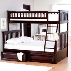 twin over full bunkbed for kids' room