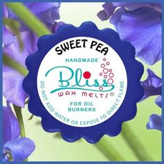 This wax melt is surprisingly fruity. It hints honey with traces of orange and impacts senses deep within Electric Warmer, Sweet Pea Flowers, Scented Wax Melts, Oil Water, Home Scents, Tarts, Tea Lights, Honey, Delicate