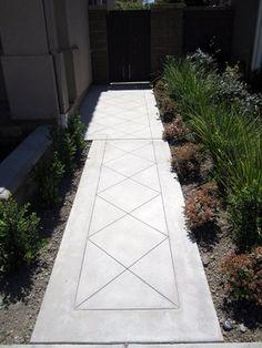 Beautiful concrete walkway in Yorba Linda, Ca.   Yelp