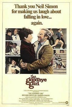 Film: Goodbye Girl Year poster printed: 1977 Country: USA Size: This is a vintage one sheet movie poster from 1977 for The Goodbye Girl starring Richard Dreyfuss, Marsha Mason, Quinn C Streaming Movies, Hd Movies, Movies Online, Cloud Movies, Hd Streaming, Love Movie, Movie Tv, Movie List, Marsha Mason