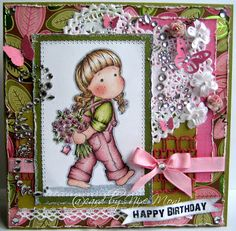 Nixe07 - Moni´s creative place: Happy Birthday .. Bunny Zoe´s Crafts Monthly Challenge #