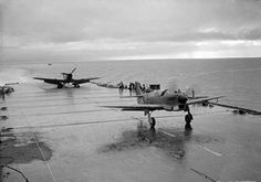 Fairey Firefly Taking Off The Fairey Firefly was designed as a carrier-based aircraft..