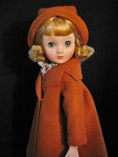 My Elise LILA in pumpkin wool felt