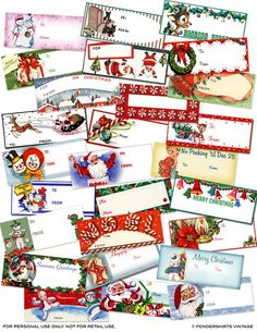 Vintage Retro 27 Assorted Christmas by FenderskirtsVintage Christmas Past, Christmas Items, A Christmas Story, Christmas Holidays, Christmas Crafts, 1980s Christmas, Winter Holidays, White Christmas, Christmas Lights