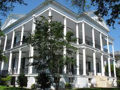 "Buckner Mansion, Garden District, New Orleans, LA. ""Repinned by Keva xo""."
