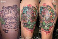Gabbie Baarsma tattoos at A Wicked Sensation