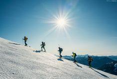 Skitour Falkert - Steinnock - On the way to the top. Mount Everest, Mountains, Sport, Nature, Top, Travel, Deporte, Naturaleza, Viajes