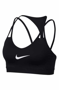 Nike Pro Indy Cooling Light Support Sports Bra - Sports Bras - Ideas of Sports Bras Sports Bra Outfit, Cute Sports Bra, Women's Sports Bras, Sport Bras, Womens Workout Outfits, Nike Outfits, Sport Outfits, Fitness Outfits, Nike Pros
