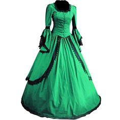 Partiss Damen Langarm Lace Maxi Victorian gotische Lolita Cosplay Abendkleid Partiss http://www.amazon.de/dp/B00YMER4XQ/ref=cm_sw_r_pi_dp_7c2fwb0CTMXPK